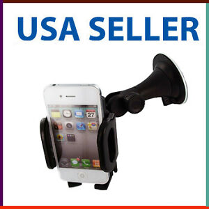 NEW-Windshield-CAR-MOUNT-HOLDER-FOR-CELL-PHONE-GPS-iPhone-4-4S-G-4TH