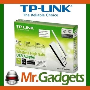 TP-Link TL-WN722N 150M High Gain Wireless N USB Adapter