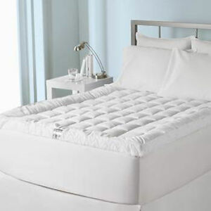 Live Comfortably Cuddle Bed Mattress Pad Topper Twin Full