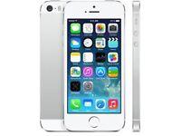 iPhone 5S 16gb unlocked silver ME433B/A