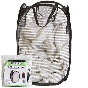 POP UP MESH LAUNDRY BASKET HAMPER