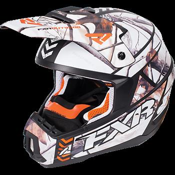 FXR Torque Squadron Realtree APHD Snow Matte Helmet -  Medium  or  Large  -  NEW