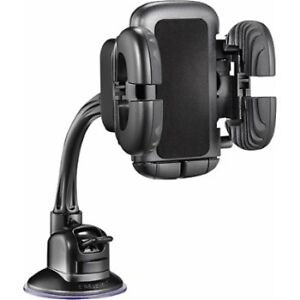 Insignia - Vehicle Mount for Most Cell Phones - Black NS-MVMU5