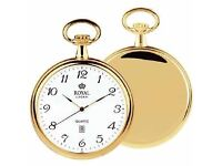 Royal London Pocket Watch with chain
