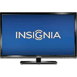 Insignia 32 inch flat screen LED HDTV television works perfectly