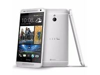 HTC M7 UNLOCKED MINT CONDITION COMES WITH WARRANTY & RECEIPT