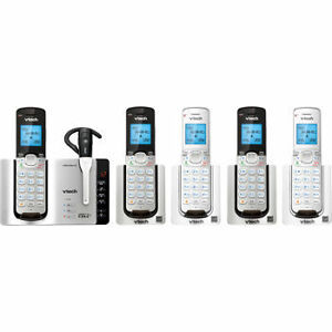 VTech DS6673-6 DECT 6.0 Cordless Phone System, Connect-to-Cell