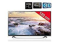 "LG 49"" 4K SMART 3D TV"