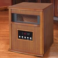 Dynamics - Chaufferette infrarouge Infrared Quartz Heater 1500 W