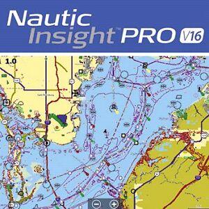 Nautic Insight Pro v16 -Lowrance mini sd map