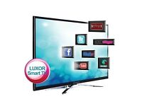 LUXOR 32 INCH SMART TV - APPS / FREEVIEW HD / HDMI / USB / WIFI.