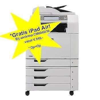 Professionele HP A3 All In One Kleuren Laserprinter Garantie