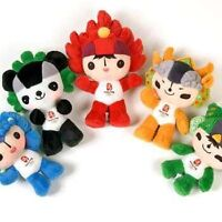 "Collectable 7"" Olympic Plush Dolls"