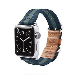 TOMS Apple Watch 42mm Band/Strap Navy Blue
