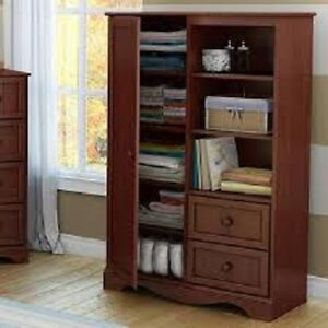 South Shore Door Chest, Royal Cherry