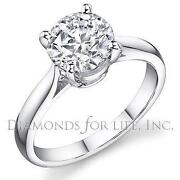 Diamond Solitaire Ring GIA