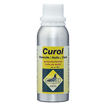 Comed Curol 250ml (cure Oil; Composed health oil). Pigeons & Birds