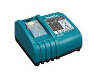 Makita DC18RA LXT Lithium Ion 18V Fast Battery Charger charges Makita batteries from 7.2V to 18V