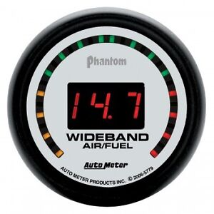 Auto Meter Wideband Air/Fuel Ratio AFR Gauge Autometer
