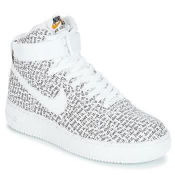 ≥ Nike AIR FORCE 1 HIGH JUST DO IT W Wit Schoenen