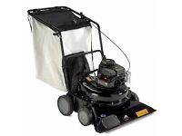 New McCullouh 4076 Leaf Vacuum - ideal for large areas of leaf clearance - lawnmower mower blower