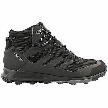 ADIDAS MEN'S TERREX TIVID MID CP HIKING BOOTS, BLACK/GREY (Store - Adidas Athletic Hiking Boots