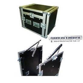 10u x 6u Console Mixer Rack Flight Case