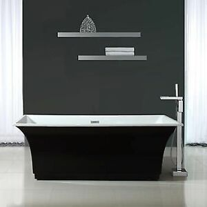 NEW cosco ove stella mo-6656B NEW Bathtub 70 inch white