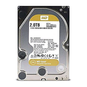 Brand New Western Digital WD 2TB Gold Drive