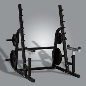 powertec squat racks and bench