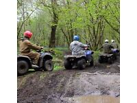 IntoTheBlue Experience Gifts & Memories -for example, Quad Bike Adventure in Cheshire