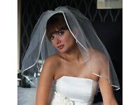 Joyce Jackson London Bridal Veil