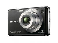 Sony Digital Camera DSC-W215 with 2 x batteries, charger and carry case