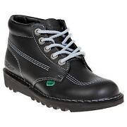 Black Kickers Size 5