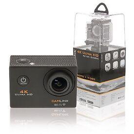 Camlink CL-AC40 4K Action Cam