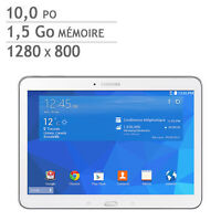 Galaxy Tab4 10.1'' Samsung 16GB 1.2ghz Quardi-Coeur Tablet SM-T5