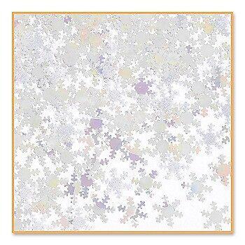Iridescent Snowflakes Confetti 1/2 Ounce