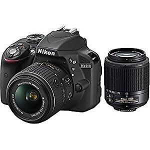 Nikon D3300 DSLR Camera with 18-55mm Lens (RARELY USED)