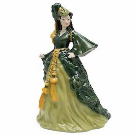 Rare Scarlett o Hara Gone With the Wind Royal Doulton Figurine