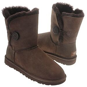 Brown bailey button uggs