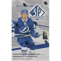 2014-15 Upper Deck SP Authentic Hockey Hobby Boxes In Stock