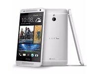HTC M7 32GB UNLOCKED MINT CONDITION COMES WITH WARRANTY & RECEIPT