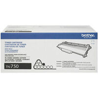 Brother TN-750 Black 8000 Page High Yield Toner Cartridges