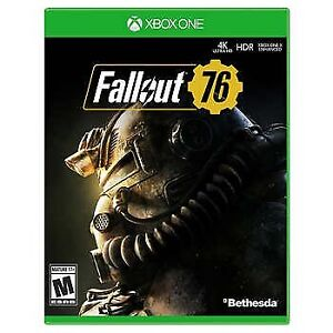 Brand New Fallout 76 Sealed Xbox One
