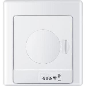 Haier 2.6 Cu. Ft. APPARTMENT SIZE ELECTRIC DRYER HLP141E ------ NO TAX DEAL