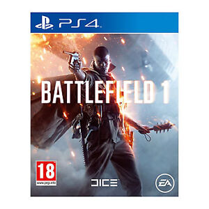 PS4 NHL 18 and Battlefield 1 (BF 1)