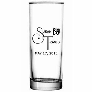Personalized Collins Cocktail Glass