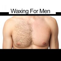 Waxing for men by a man