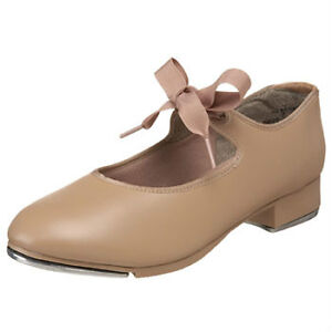 Beige Tap shoes youth size 10 wide