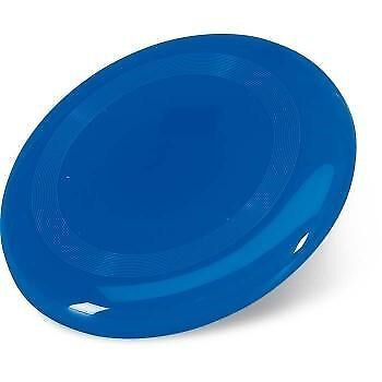 Blue frisbee can be custom printed gifts with logo n non woven bag